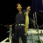 8月11日  イカメタル    9名での出船でしたが、気付いたら3名しか釣り手が居ませんでした💦   トップ58杯   船中188杯    比較的に型も良く活性も高かったのですが、人の活性が😅💦
