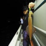 8月3日  イカメタル       今日は、イカメタルでは当たりが無く、オモリグがかなり有利でした!あまり釣れないので、途中大きく移動しましたが時既に遅しで良い釣果を出す事が出来ませんでした😭  15〜35杯  船中260杯(10名)