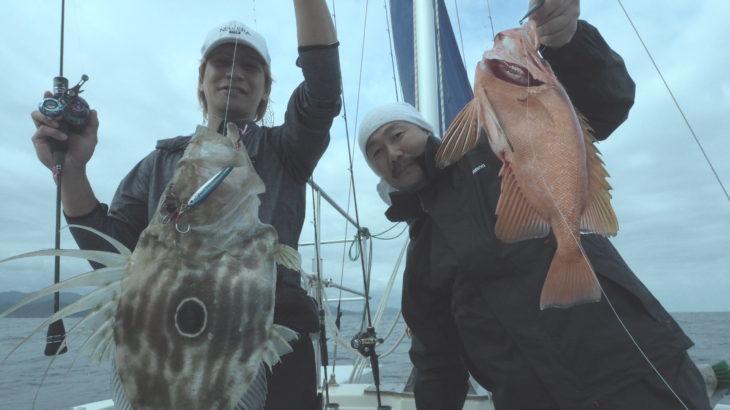 6月20日(土) 近海ジギング!sljでイサキを狙って見ました!!しっかり中層までジグをアクションした方が良く釣れてました✨